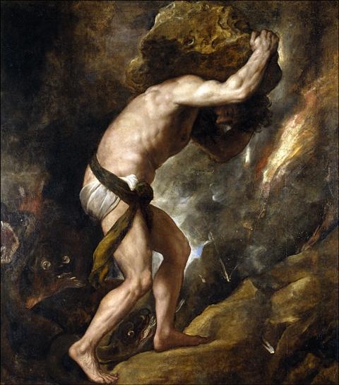 Le mythe de Sisyphe Crédit : wikipedia.org